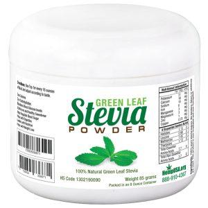 green stevia mockup